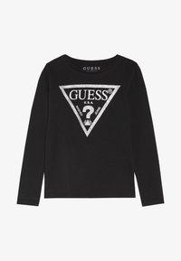 Guess - TODDLER CORE - Bluzka z długim rękawem - jet black/frost - 2
