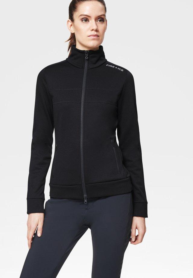 HAILEY - Zip-up hoodie - schwarz