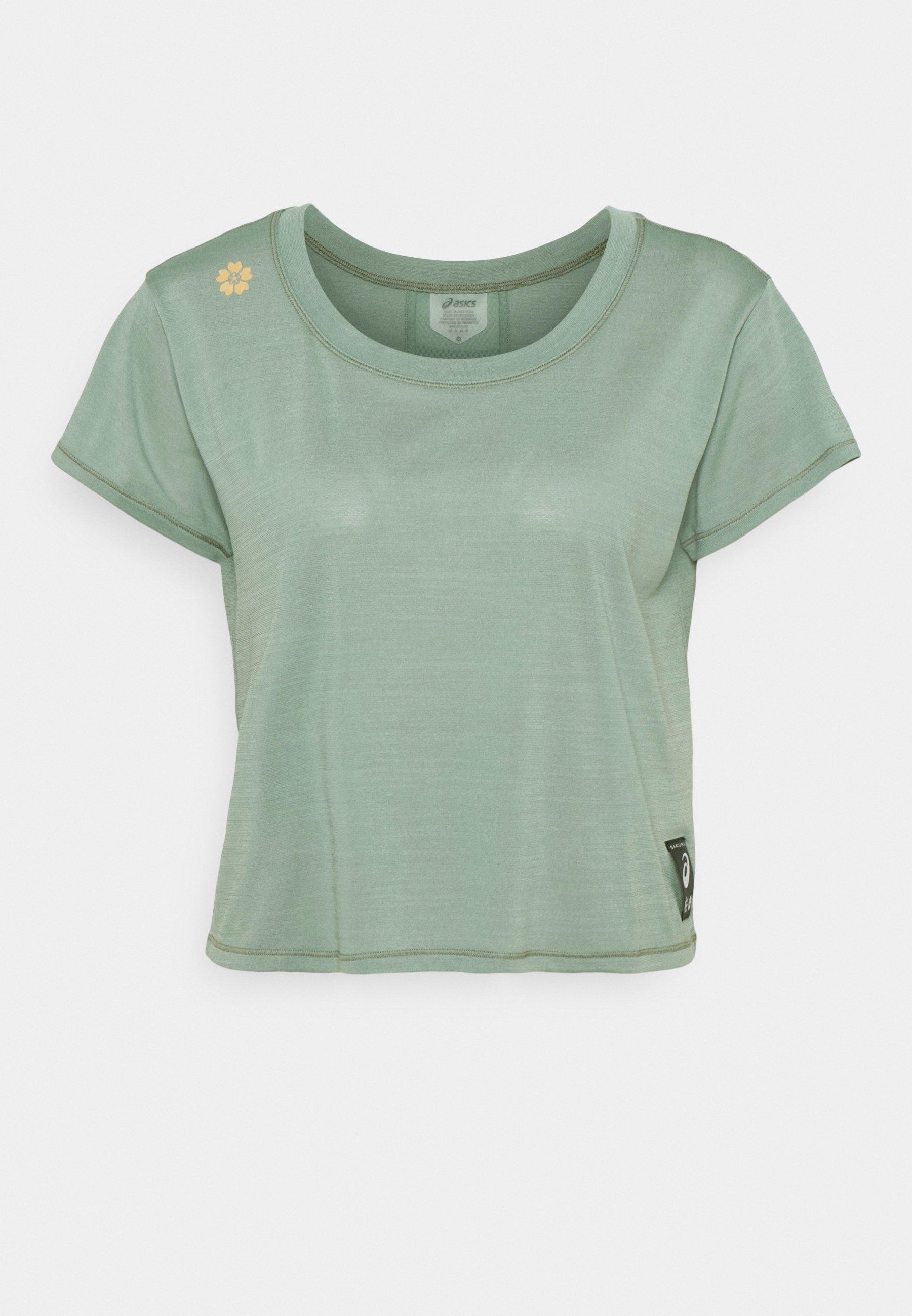 Women SAKURA CROP - Basic T-shirt