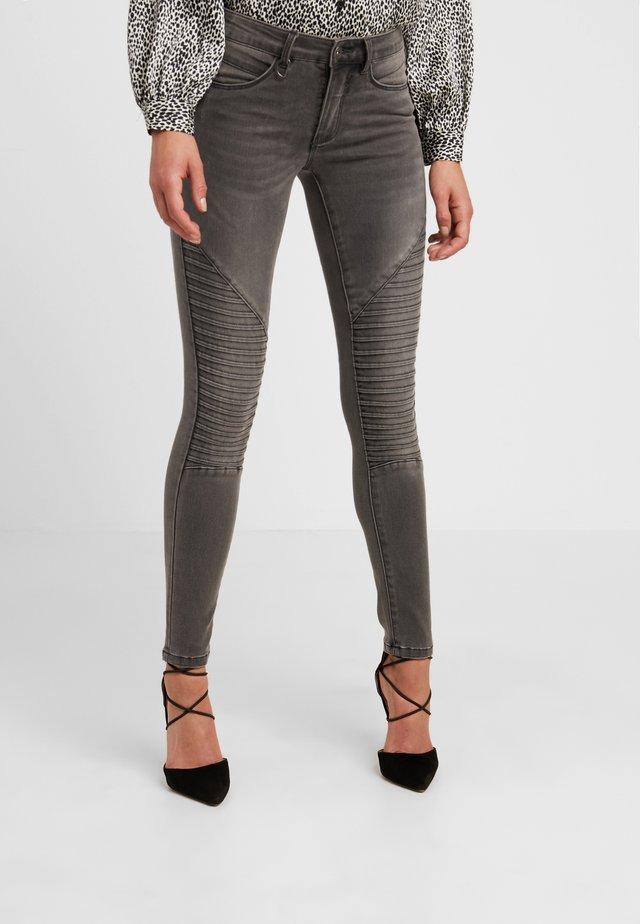 ONLROYAL BIKER PET - Jeans Skinny Fit - dark grey denim