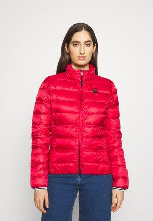 BASIC JACKET STANDING NECK COLLAR - Down jacket - red