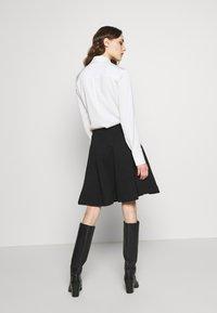 Anna Field - BASIC MINI A-LINE SKIRT - Minifalda - black - 2