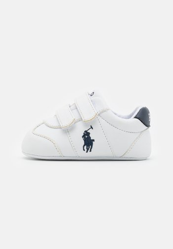 BIG PONY JOGGER LAYETTE - First shoes - white smooth/navy