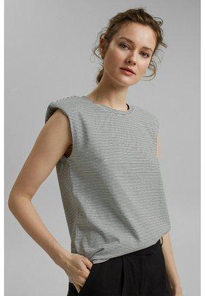 PADDED TEE - Basic T-shirt - off white