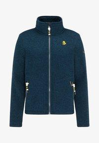 Schmuddelwedda - Fleece jacket - petrol melange - 4