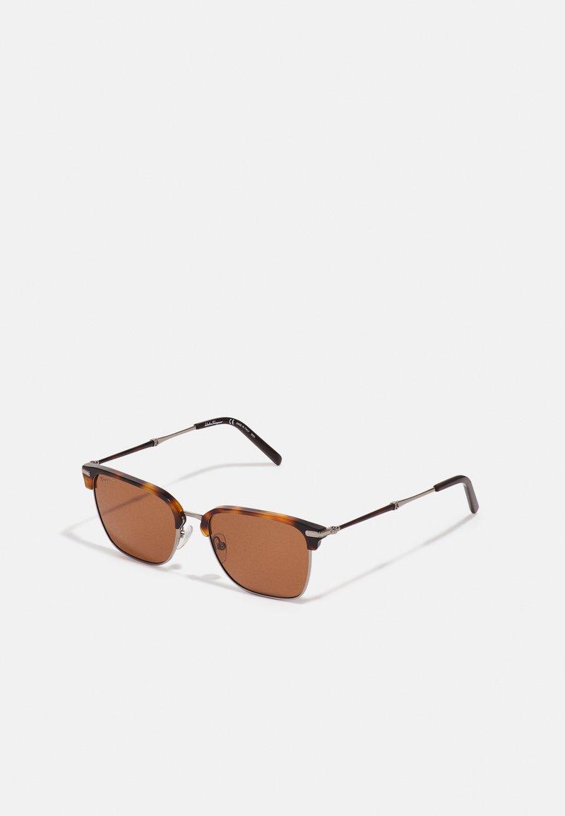 Salvatore Ferragamo - UNISEX - Sunglasses - light ruthenium/tortoise