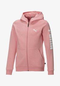 Puma - PIGE - Zip-up hoodie - salmon rose-puma white - 0