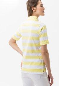 BRAX - STYLE CLEO - Polo shirt - yellow - 2