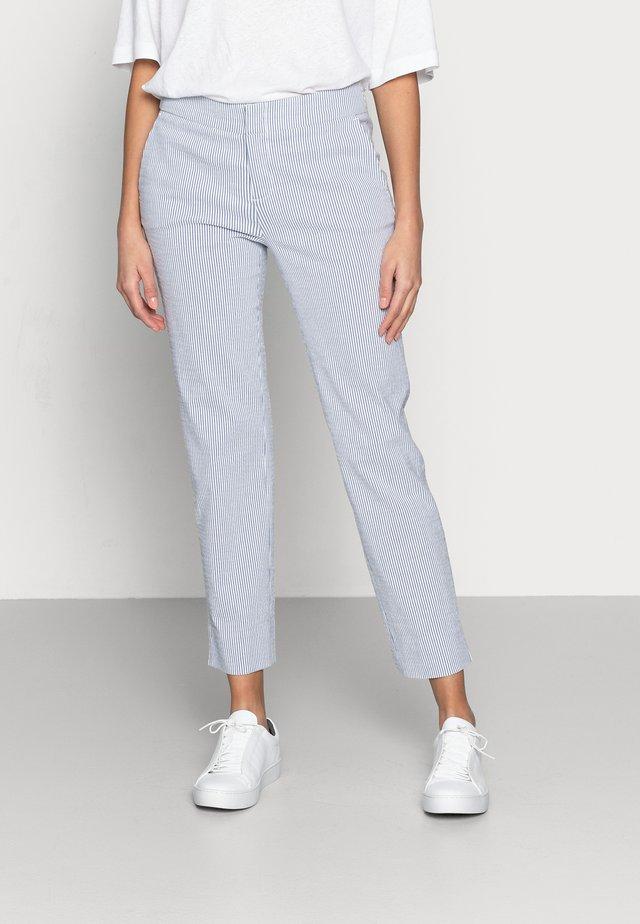 Pantalon classique - blue/white