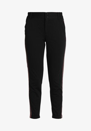 KINNIE PANTS - Trousers - black deep