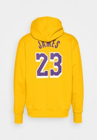 Nike Performance - NBA LOS ANGELES LAKERS LEBRON JAMES CITY EDITION ESSENTIAL - Club wear - amarillo/field purple - 7