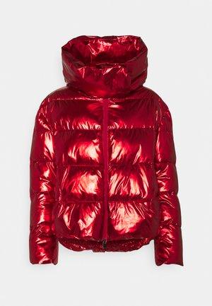 GIZA IMBOTTITO TELA SPECCHIO - Winter jacket - red