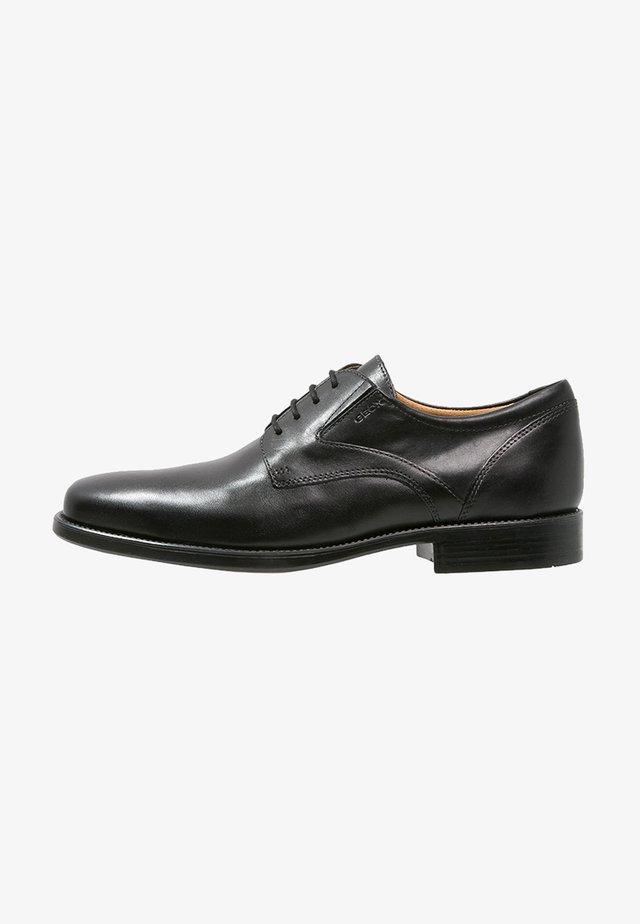 FREDERICO - Smart lace-ups - black