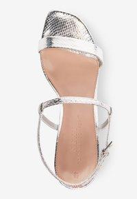 Next - High heeled sandals - silver - 2