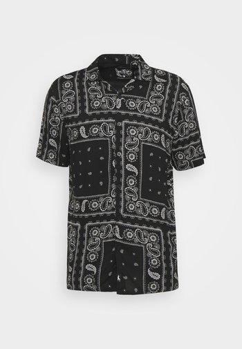 BANDANA - Shirt - black