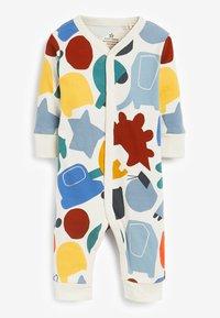 Next - 3 PACK COLOURBLOCK FOOTLESS SLEEPSUITS - Sleep suit - blue - 3