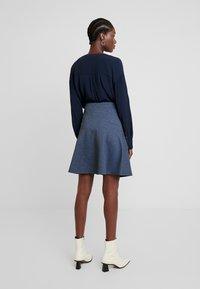 TOM TAILOR - SKIRT CASUAL - Mini skirt - navy blue - 2