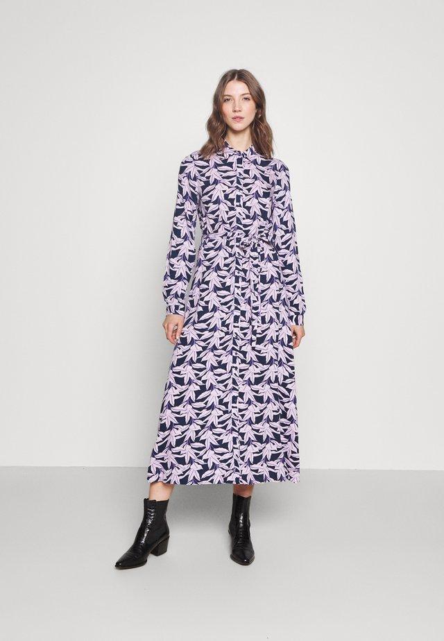 YASJOSEPHINE LONG DRESS - Shirt dress - dark navy