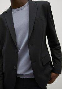 Mango - Blazer jacket - bleu marine foncé - 3