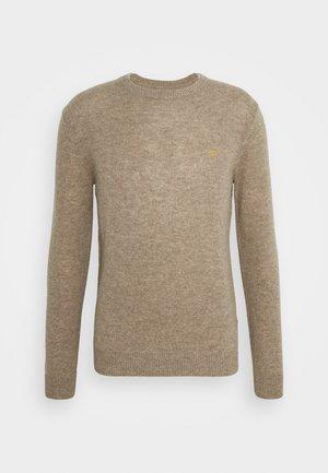 ROSECROFT - Stickad tröja - taupe marl