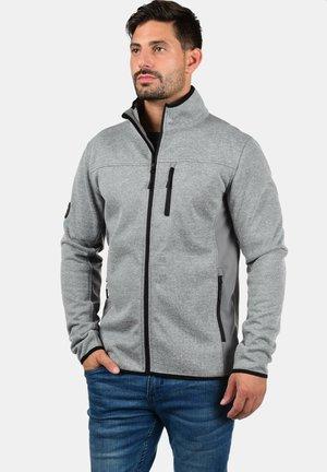 ESHER - Zip-up hoodie - grey mix