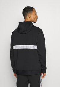 Jordan - AIR FULL ZIP - Zip-up hoodie - black/white - 2