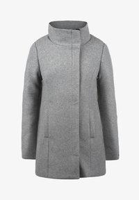 WOLLMANTEL WOLKE - Short coat - light grey