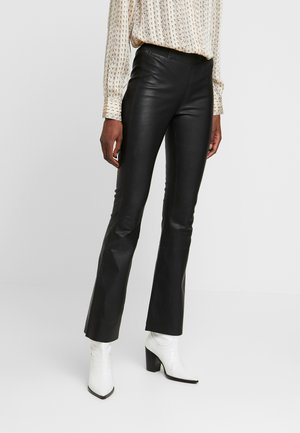 FRUNA PANTS THEA FIT - Leggings - Trousers - black