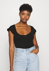 Missguided - 2 PACK - Body - black/grey - 2