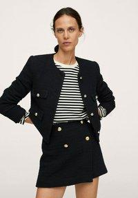 Mango - WINTOUR - A-line skirt - zwart - 3