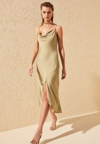 Trendyol - Day dress - green - 0