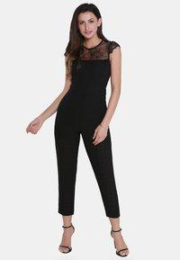 usha - Tuta jumpsuit - black - 1