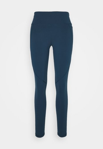 POWER WORKOUT LEGGINGS - Tights - beetle blue