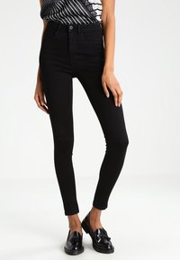 ONLY - ONLROYAL HIGH - Jeans Skinny Fit - black - 0