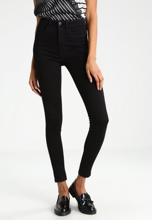 ONLROYAL HIGH - Jeansy Skinny Fit - black