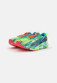ASICS - NOOSA TRI 13 - Competition running shoes - hazard green/digital aqua - 1