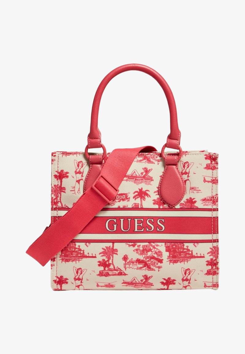 Guess - EDERLE - Handbag - rot
