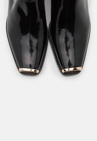 Jeffrey Campbell - POKER - Classic ankle boots - black/gold - 5