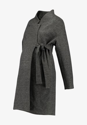 MLHAZE COAT - Abrigo - dark grey melange