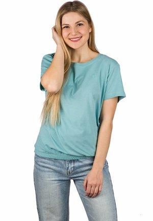 INDRA  - Basic T-shirt - nile blue