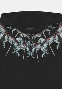Marcelo Burlon - FULL ZIP HORSES - Zip-up hoodie - nero