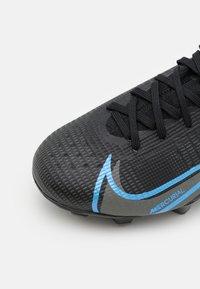 Nike Performance - MERCURIAL JR 8 PRO FG UNISEX - Kopačky lisovky - black/iron grey - 5