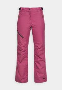 Icepeak - CURLEW - Ski- & snowboardbukser - burgundy - 0