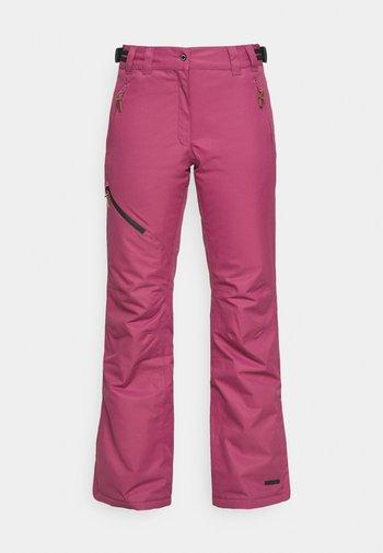 CURLEW - Ski- & snowboardbukser - burgundy