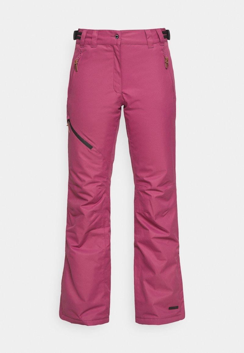 Icepeak - CURLEW - Ski- & snowboardbukser - burgundy