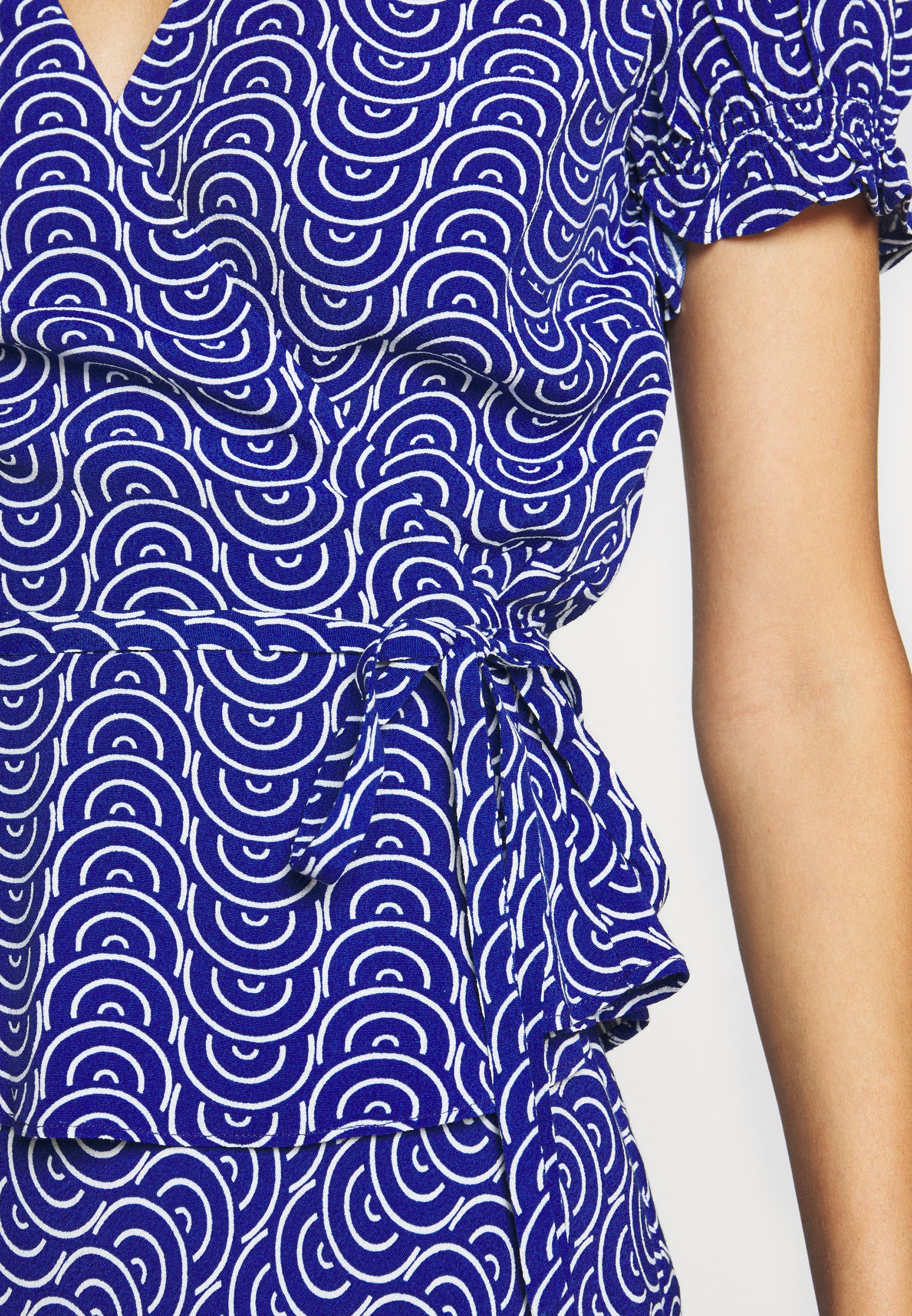 Cut-Price Fashionable Women's Clothing Diane von Furstenberg EMILIA Blouse blue QrbYbaSma IJfYi4pMI