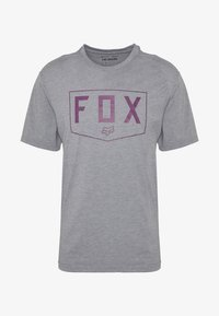Fox Racing - SHIELD TECH TEE - T-Shirt print - grey - 3