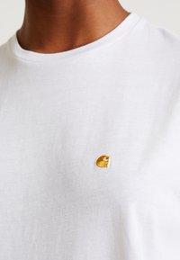 Carhartt WIP - CHASY - Basic T-shirt - white - 5