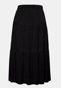 Ulla Popken - Maxi skirt - schwarz - 0