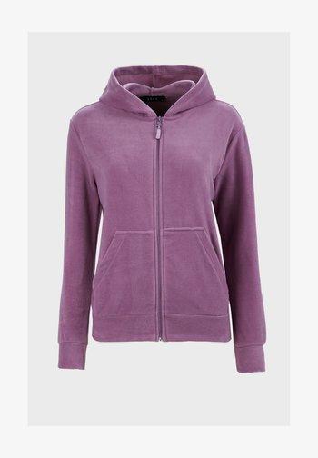 Zip-up sweatshirt - lilac